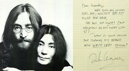 john lennons letters to be published by little brown and company